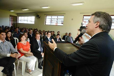 Subsecretário de Administração Prisional Antônio de Pádova Marchi Junior. Crédito foto: Carlos Alberto/Imprensa MG